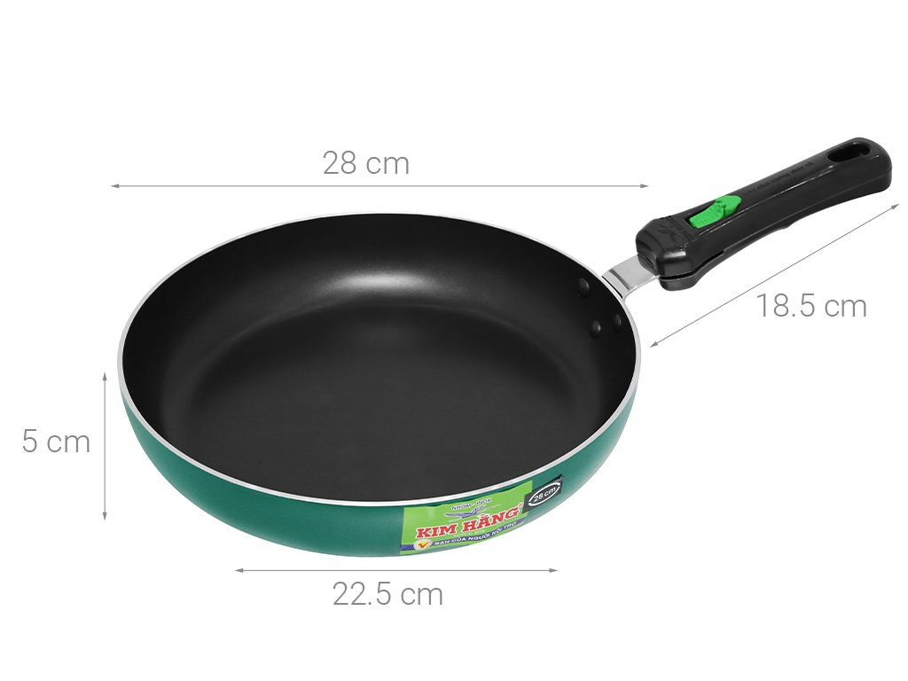 Chảo quánh kilo Kim Hằng 28cm 8