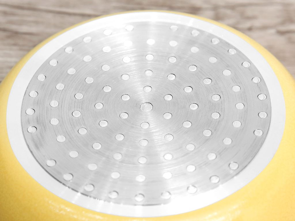 Chảo nhôm chống dính có nắp Kim Hằng KHG8050 16cm 7