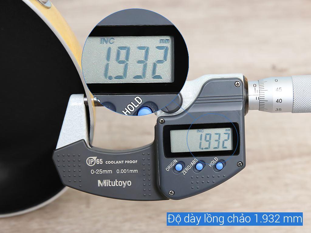 Chảo nhôm chống dính có nắp Kim Hằng KHG8050 16cm 9