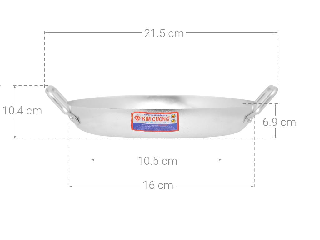 Chảo ốp la Kim Cương 18cm 7