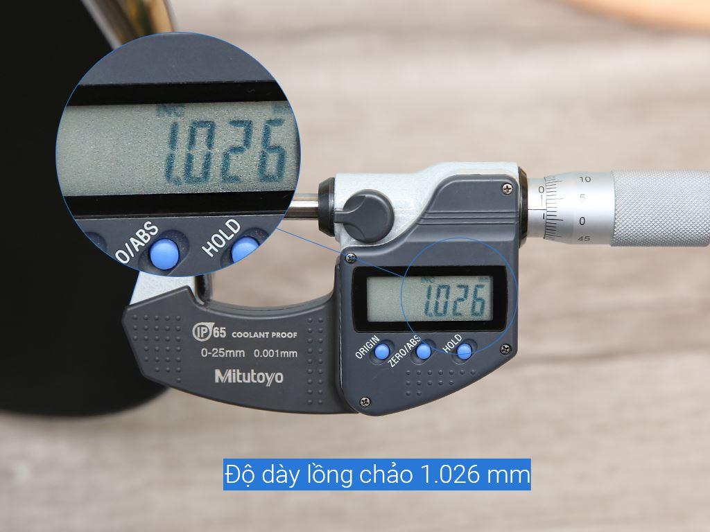 Chảo nhôm chống dính Rainy RN 36KD-2Q 36cm 6