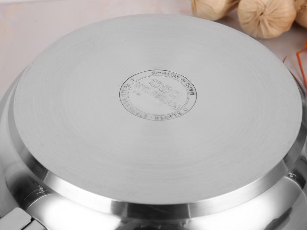 Chảo inox chống dính 3 đáy Fivestar CKD28-3DI 28cm 4
