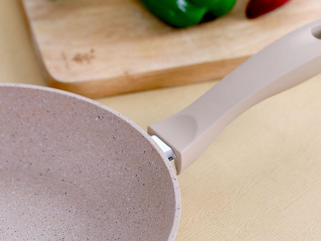 Chảo chống dính đáy từ Happycook CHP-24 24cm 3