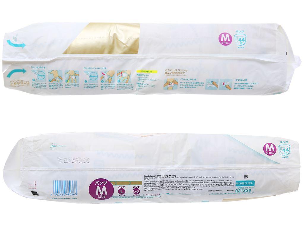 Tã quần Pampers cao cấp size M 44 miếng (cho bé 6 - 10kg) 3