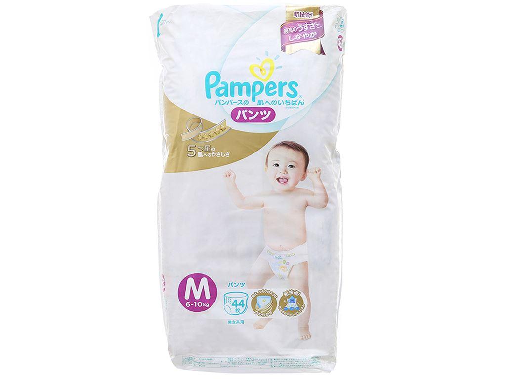 Tã quần Pampers cao cấp size M 44 miếng (cho bé 6 - 10kg) 1