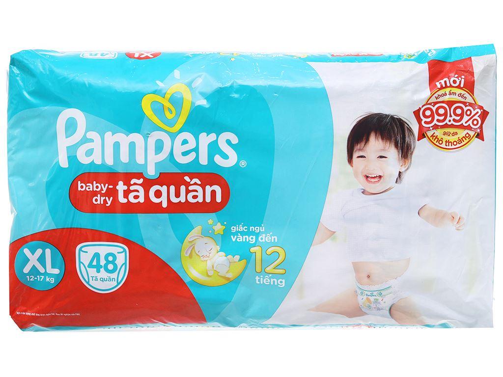 Tã quần Pampers Baby Dry size XL 48 miếng (cho bé 12 - 17kg) 2