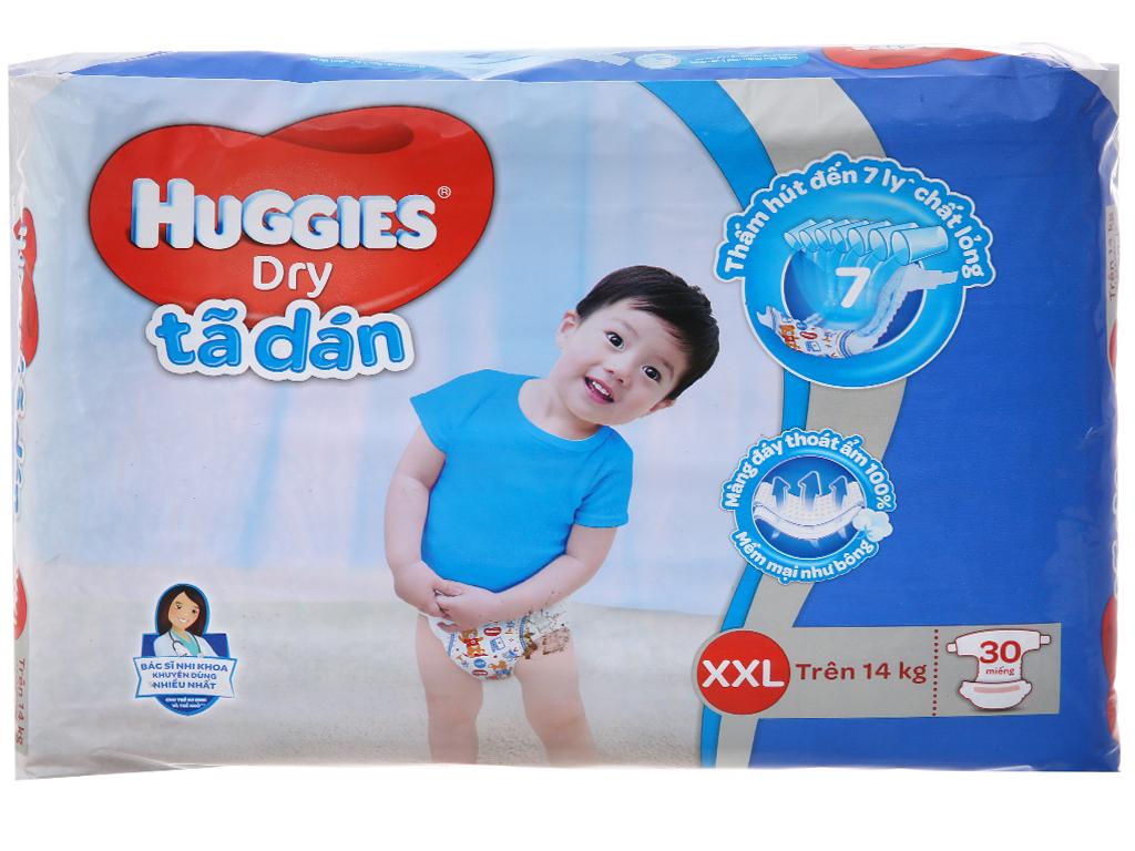 Tã dán Huggies Dry (cho bé trên 14kg) 2