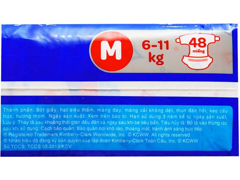 Tã dán Huggies Dry size M 48 miếng (cho bé 6 - 11kg) 3