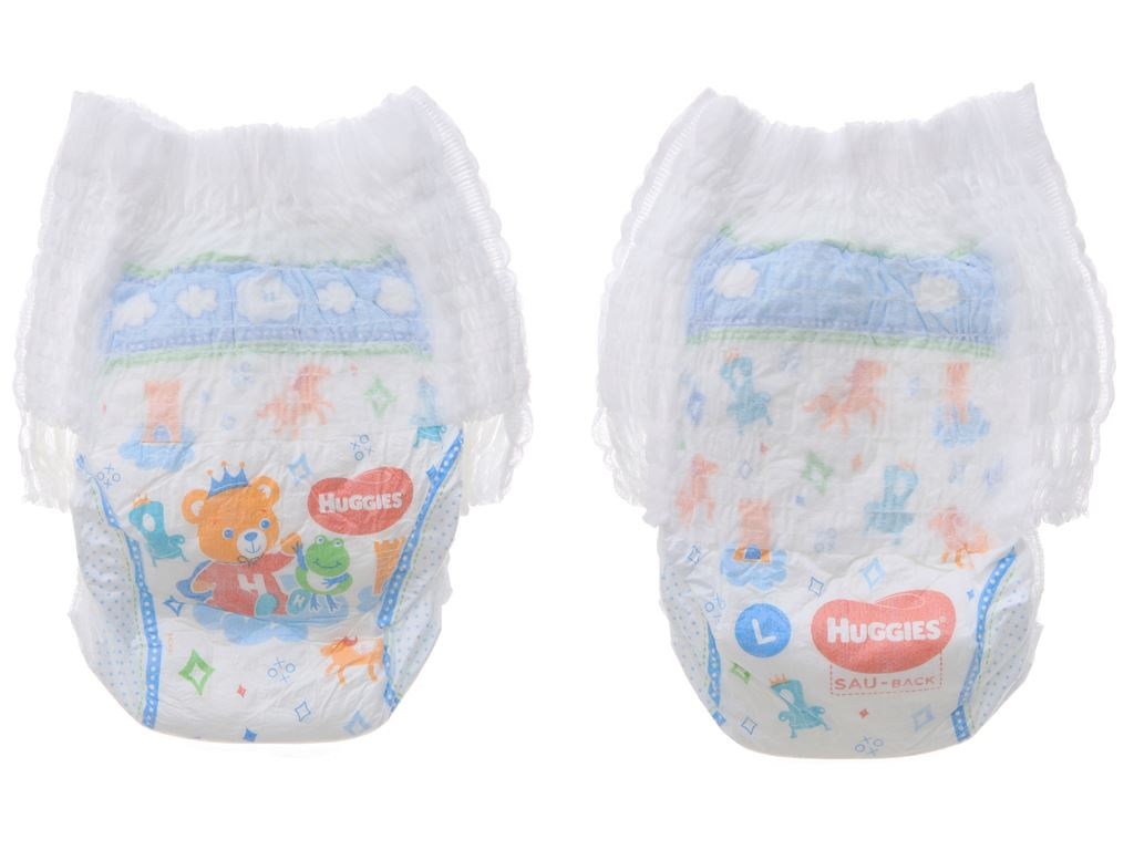 Tã quần Huggies Dry size L 36 miếng (cho bé 9 - 14kg) 4