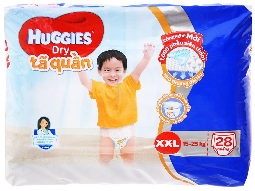 Tã quần Huggies Dry size XXL 28 miếng (cho bé 15 - 25kg) 2