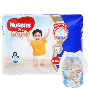 Tã quần Huggies Dry size XXL 28 miếng (cho bé 15 - 25kg)