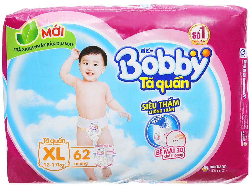 Tã quần Bobby size XL 62 miếng (cho bé 12 - 17kg) 2