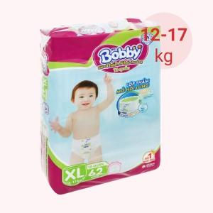 Tã quần Bobby size XL 62 miếng (cho bé 12 - 17kg)