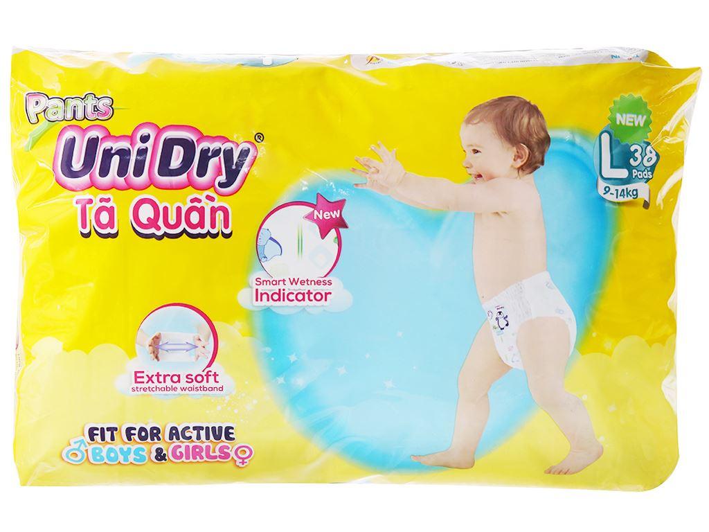 Tã quần Unidry size L 38 miếng (cho bé 9 - 14kg) 2
