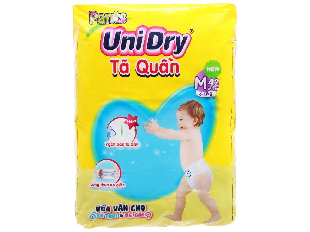 Tã quần Unidry size M 42 miếng (cho bé 6 - 11kg) 1