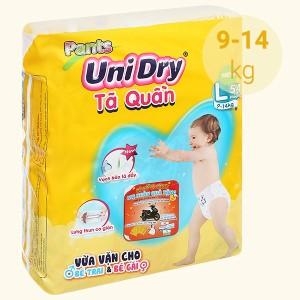 Tã quần Unidry size L 54 miếng (cho bé 9 - 14kg)