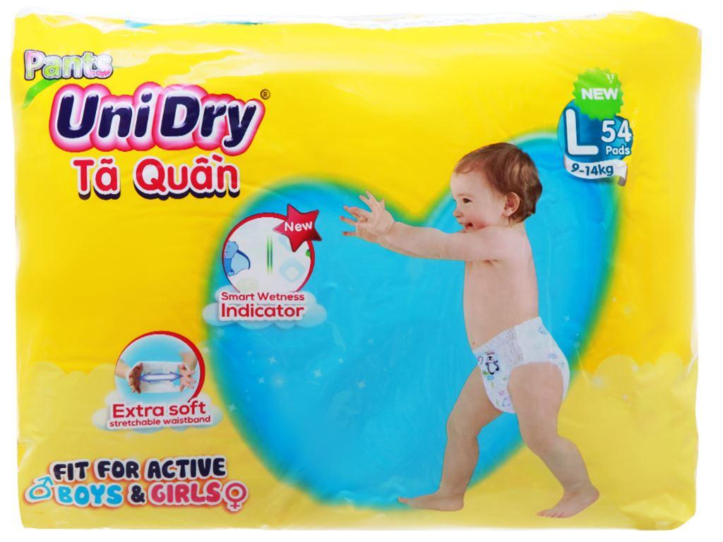 Tã quần Unidry Size L 54 miếng (cho bé 9 - 14kg) 2