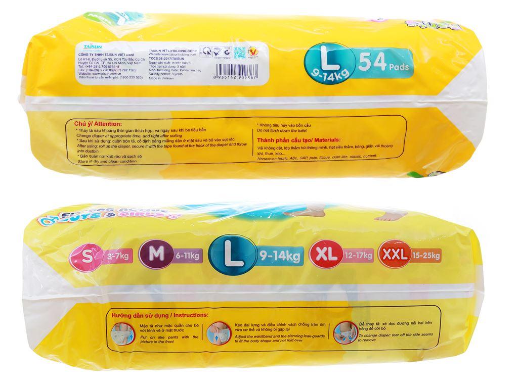 Tã quần Unidry Size L 54 miếng (cho bé 9 - 14kg) 3