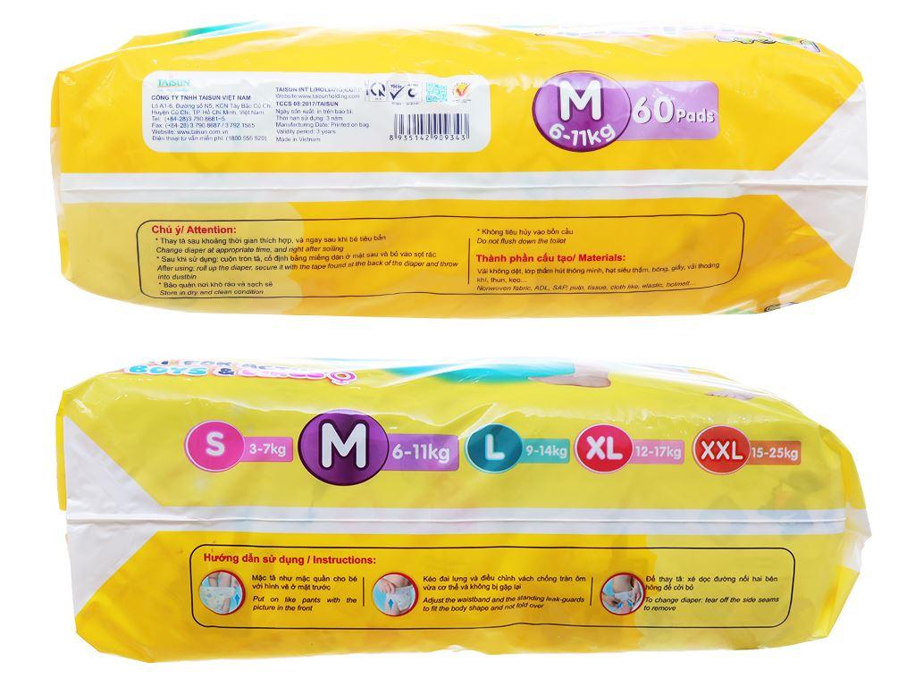 Tã quần Unidry size M 60 miếng (cho bé 6 - 11kg) 3