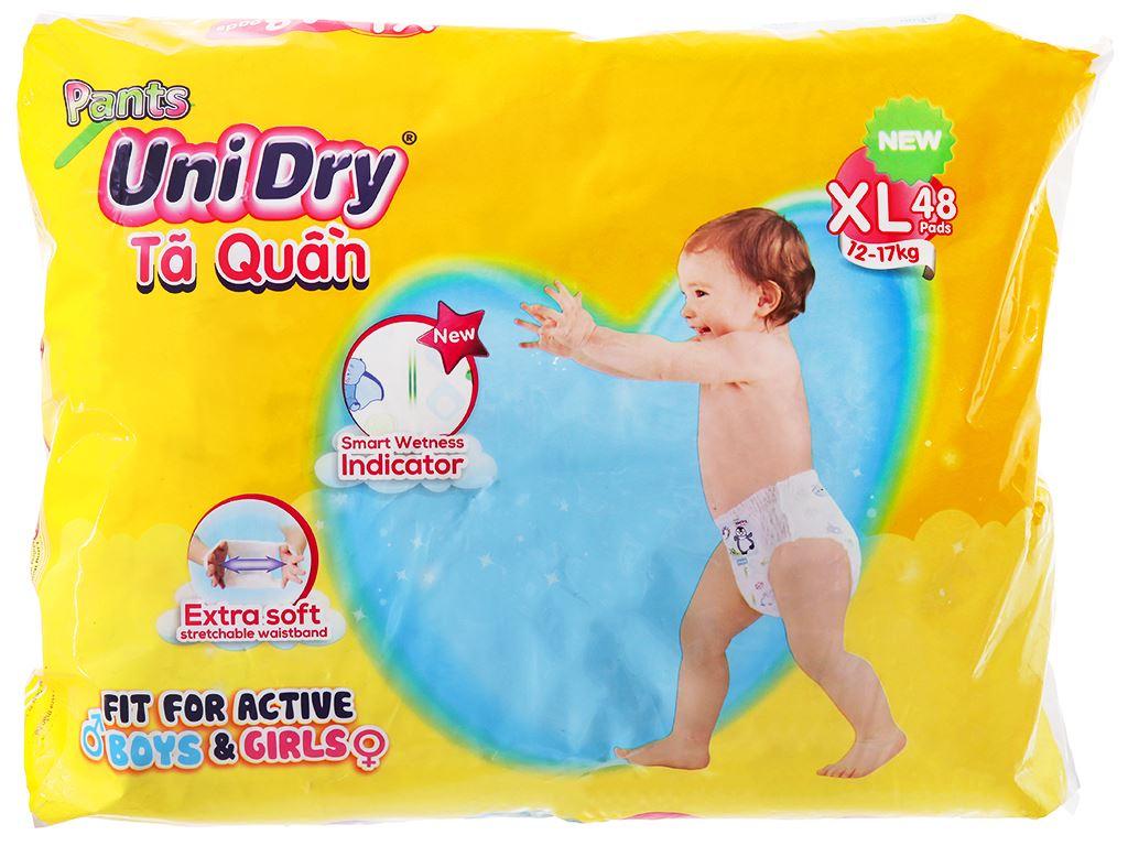 Tã quần Unidry size XL 48 miếng (cho bé 12 - 17kg) 2