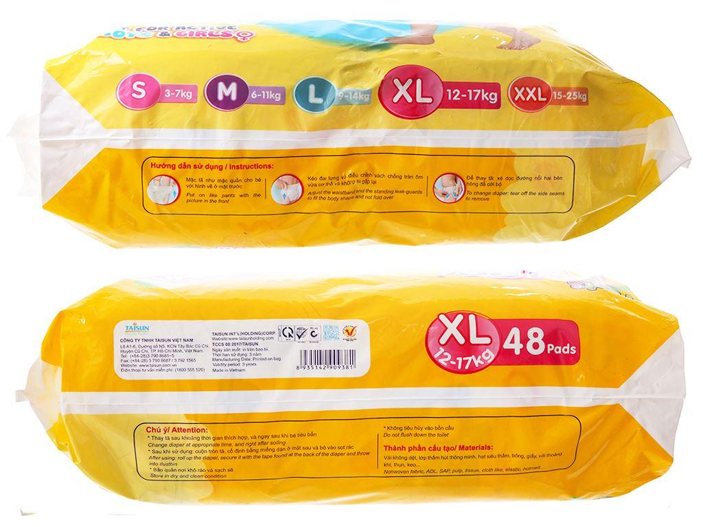 Tã quần Unidry size XL 48 miếng (cho bé 12 - 17kg) 3