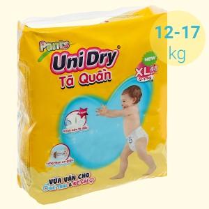 Tã quần Unidry size XL 48 miếng (cho bé 12 - 17kg)