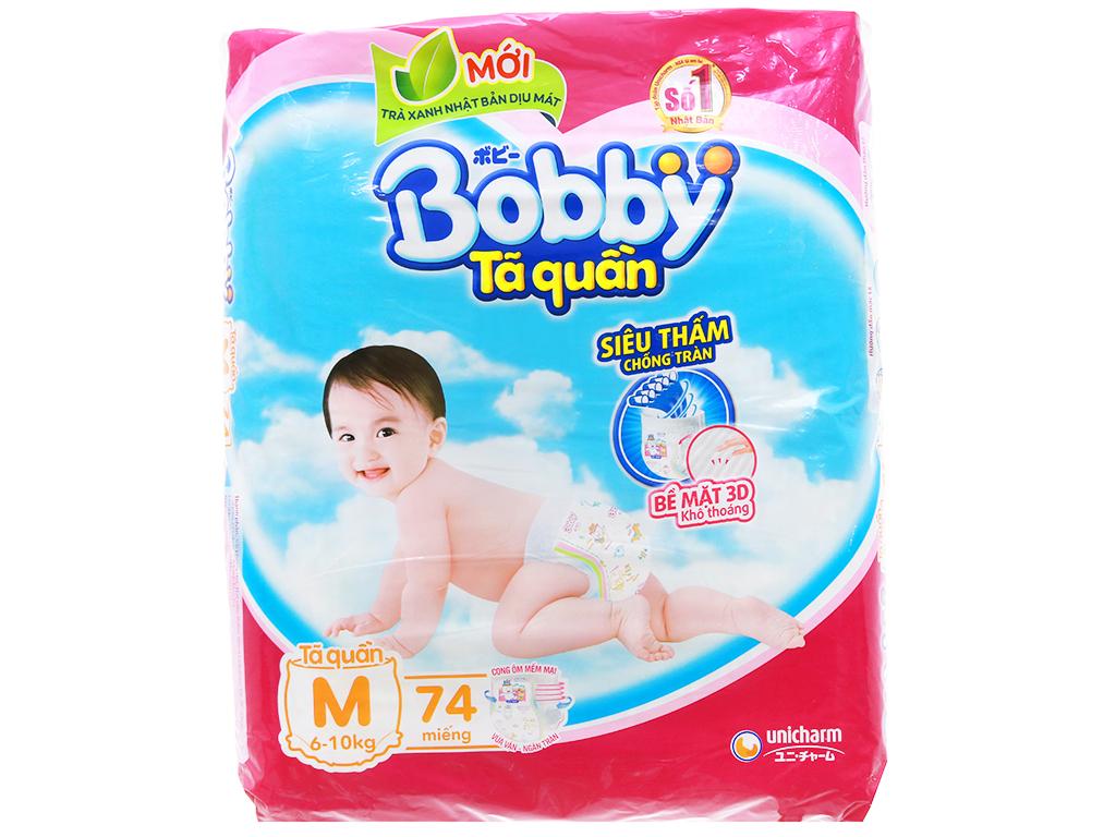 Tã quần Bobby size M 74 miếng (cho bé 6 - 10kg) 1