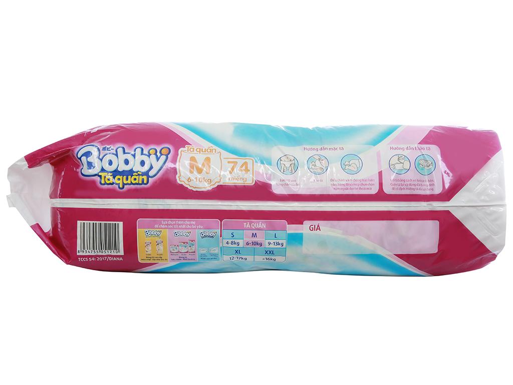 Tã quần Bobby size M 74 miếng (cho bé 6 - 10kg) 3