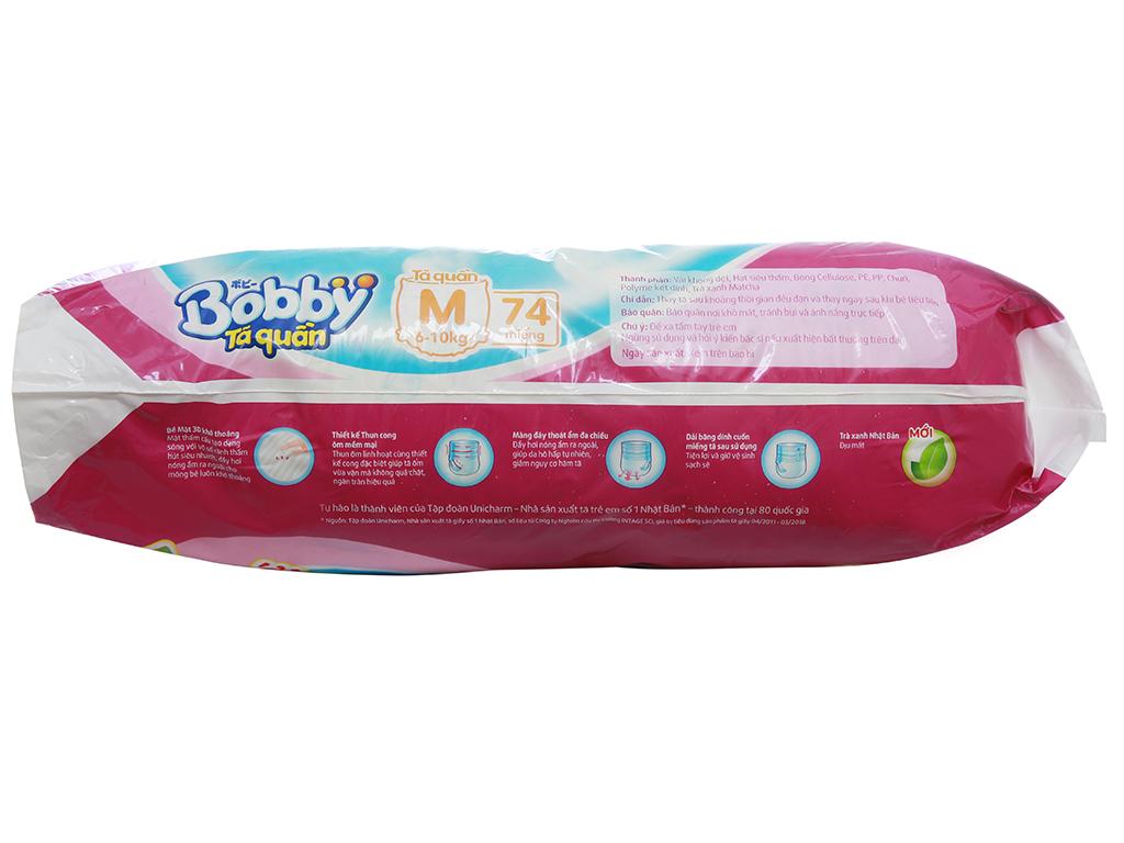Tã quần Bobby size M 74 miếng (cho bé 6 - 10kg) 4