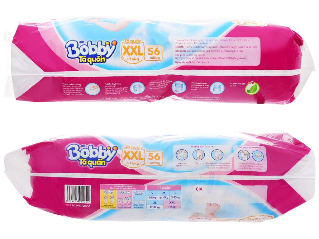 Tã quần Bobby size XXL 56 miếng (cho bé trên 16kg) 3