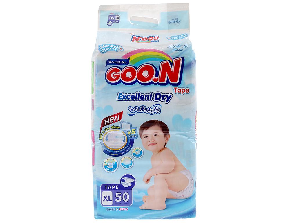 Tã dán Goon Excellent Soft 50 miếng (cho bé 12 - 20kg) 2
