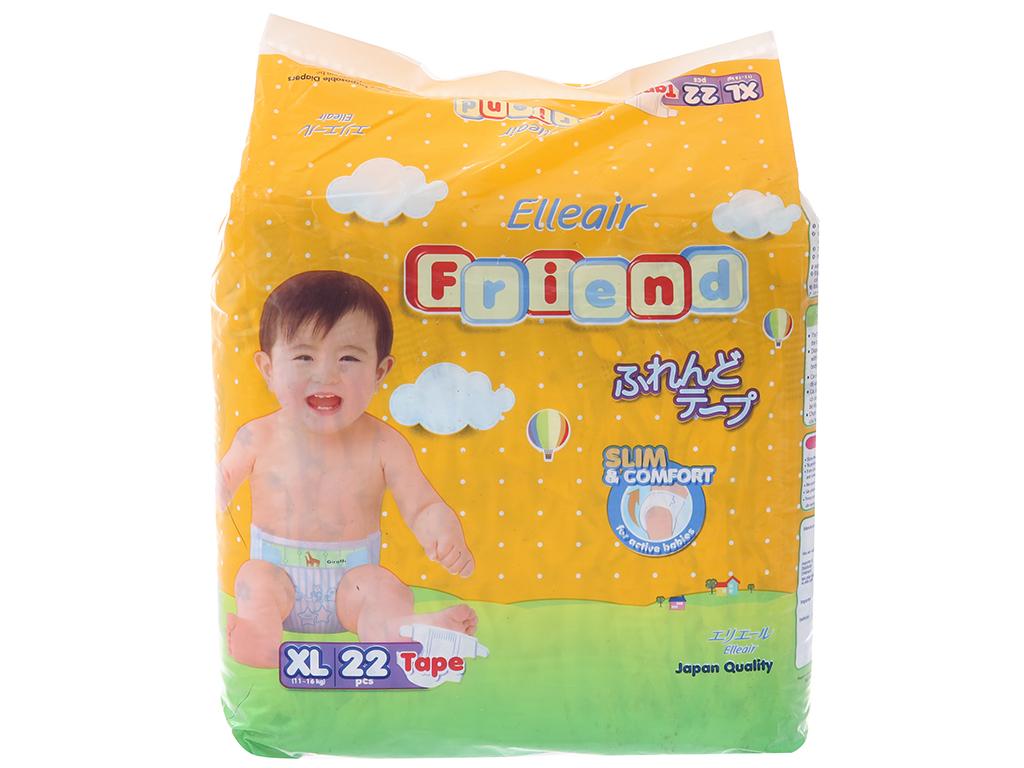 Tã dán Goon Elleair Friend 22 miếng (cho bé 11 - 16kg) 2