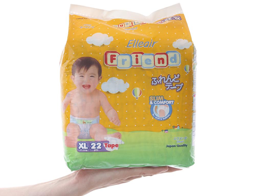 Tã dán Goon Elleair Friend 22 miếng (cho bé 11 - 16kg) 3