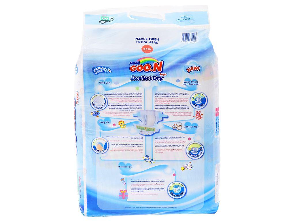 Tã dán Goo.n Excellent Dry size M 66 miếng (cho bé 7 - 12kg) 2