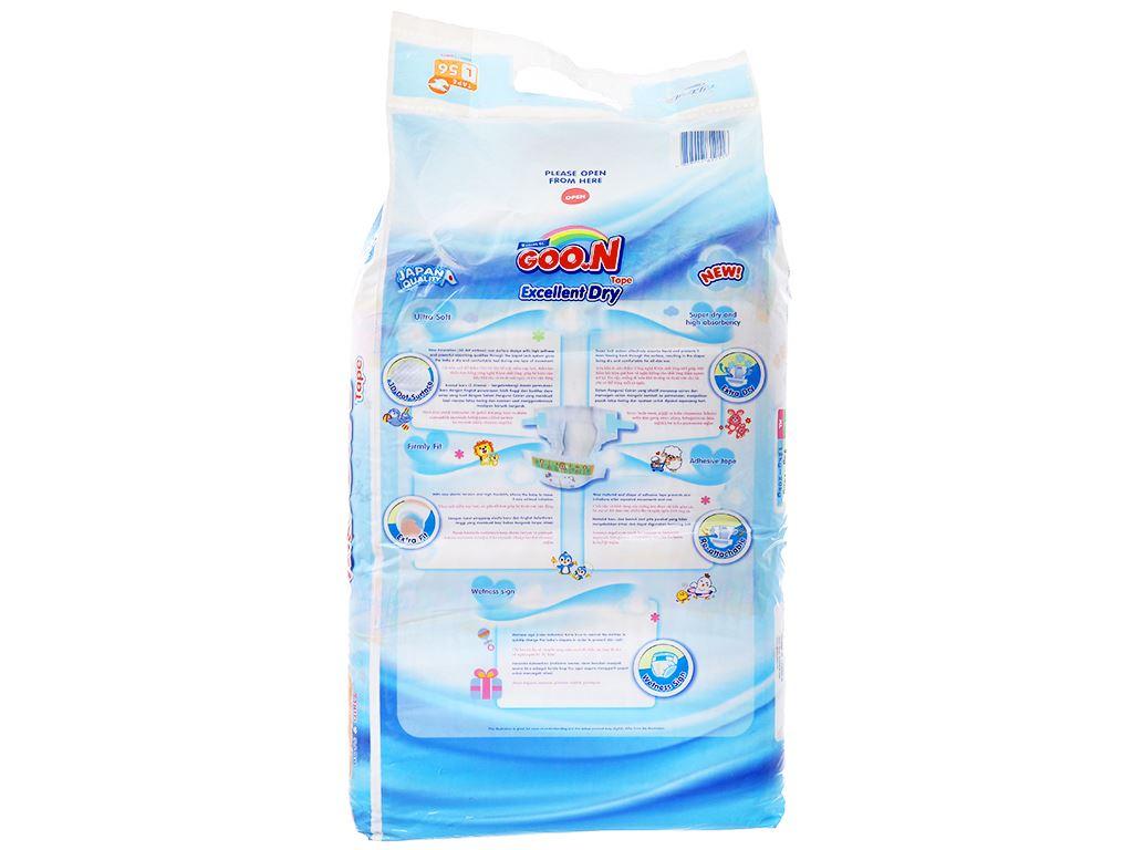 Tã dán Goon Excellent Dry Size L 56 miếng (cho bé 9 - 14kg) 2