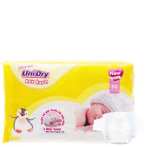 Tã dán Unidry Ultra Soft Newborn 36 miếng