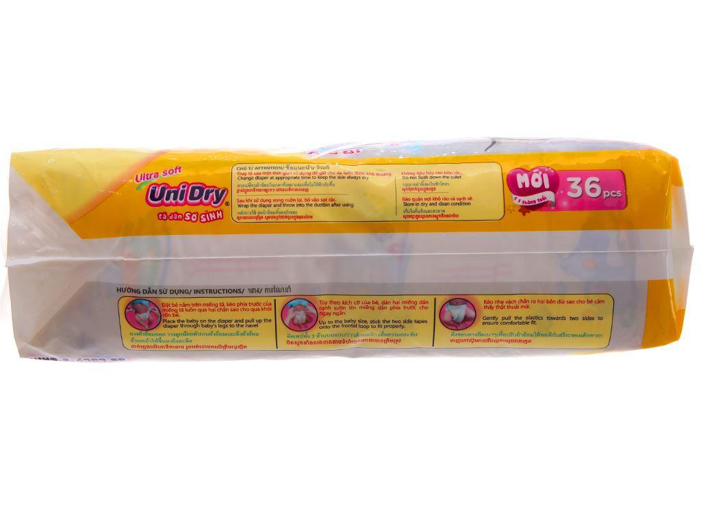Tã dán Unidry Ultra Soft Newborn 36 miếng 2