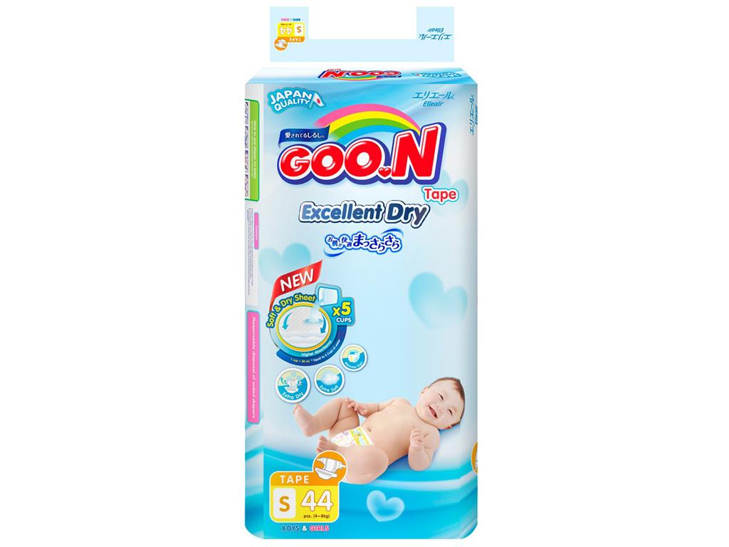 Tã quần Goon Excellent Soft Size S 44 miếng (cho bé 4 - 8kg) 1