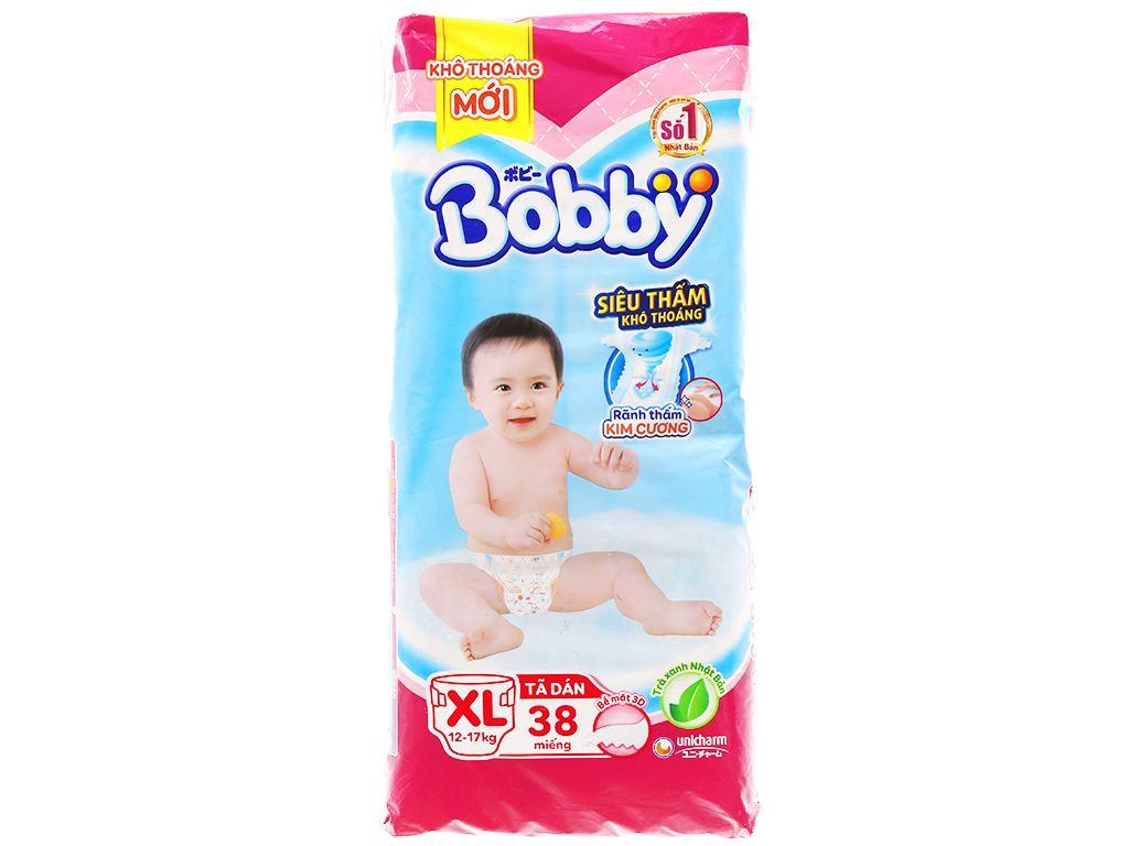 Tã dán Bobby Fresh size XL 38 miếng (cho bé 12 - 17kg) 1