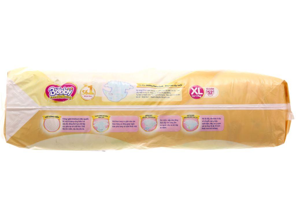 Tã dán Bobby Extra Soft Dry size XL 52 miếng (cho bé 12 - 17kg) 2