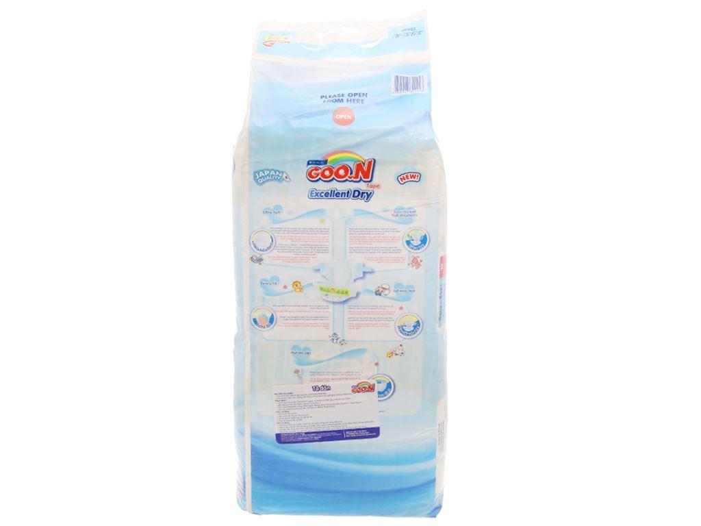 Tã dán Goo.n Excellent Dry size S 44 miếng (cho bé 4 - 8kg) 2