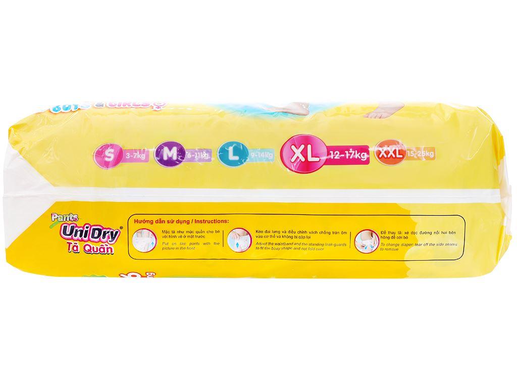 Tã quần Unidry size XL 62 miếng (cho bé 12 - 17kg) 2