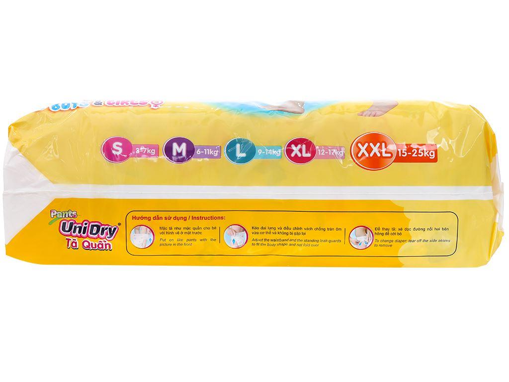Tã quần Unidry size XXL 44 miếng (cho bé 15 - 25kg) 2