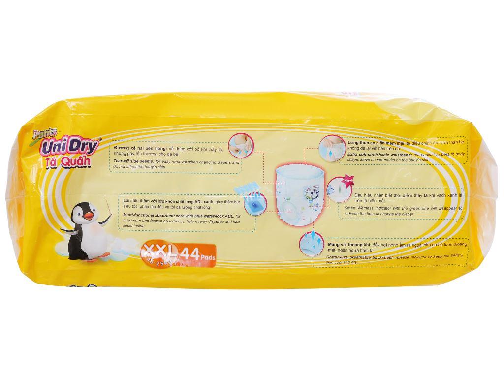 Tã quần Unidry size XXL 44 miếng (cho bé 15 - 25kg) 3