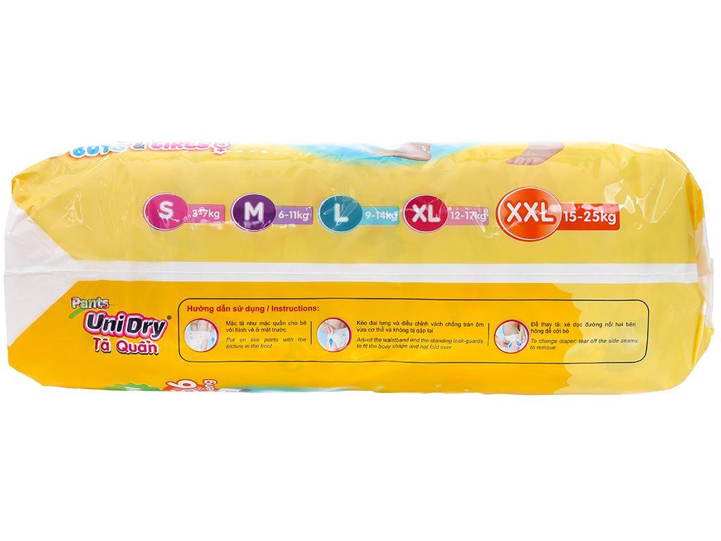 Tã quần Unidry size XXL 56 miếng (cho bé 15 - 25kg) 2