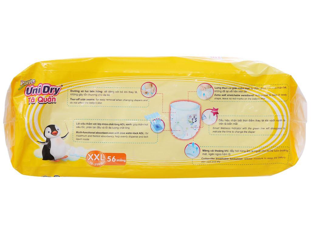Tã quần Unidry size XXL 56 miếng (cho bé 15 - 25kg) 3