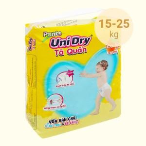 Tã quần Unidry size XXL 56 miếng (cho bé 15 - 25kg)