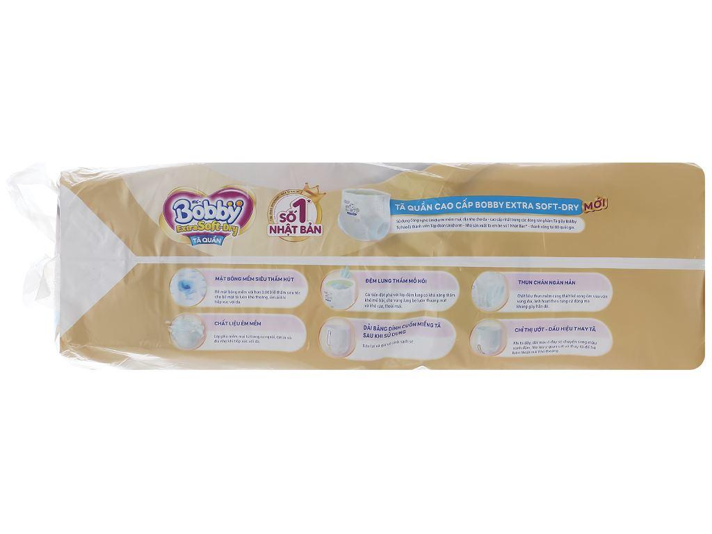 Tã quần Bobby Extra Soft Dry size M 64 miếng (cho bé 6 - 10kg) 4