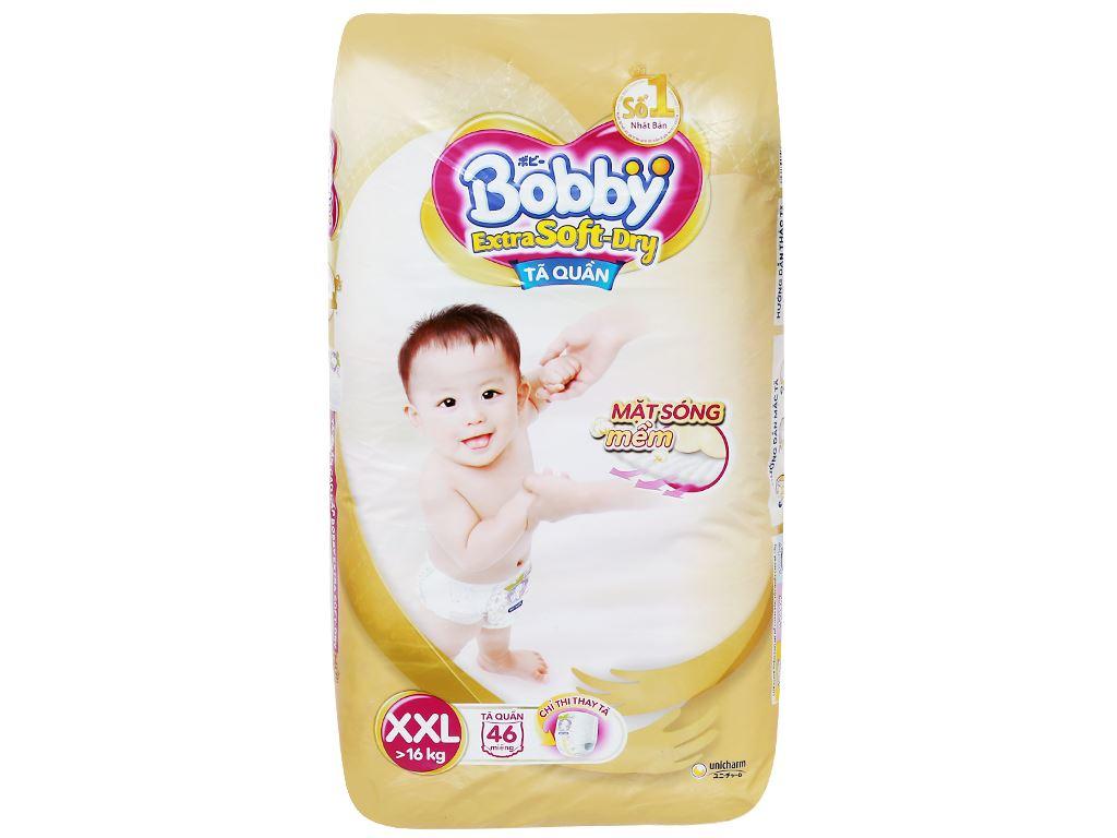 Tã quần Bobby Extra Soft Dry size XXL 46 miếng (cho bé trên 16kg) 2
