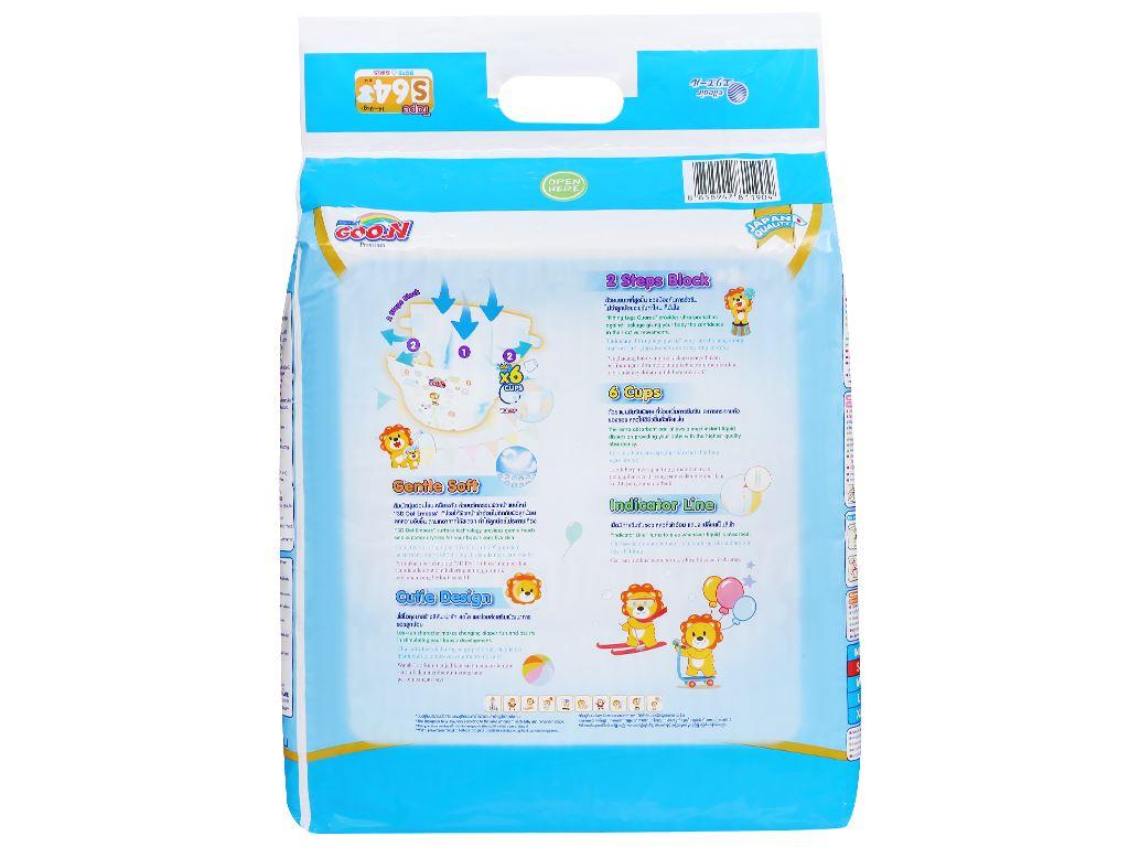Tã dán Goo.n Premium size S 64 miếng (cho bé 4 - 8kg) 3